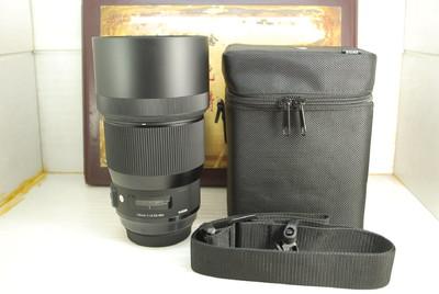 99新 佳能口 适马 135mm F1.8 DG ART 单反镜头 专业人像定焦