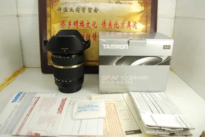 95新 佳能口 腾龙 10-24 F3.5-4.5 B001 超广角 单反镜头