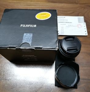 出售98新富士XF23 1.4R,国行带发票和uv,箱说齐全。