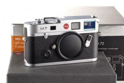 徕卡 Leica M7 TTL 0.72 银色机身 带包装 (后期MP取景器)