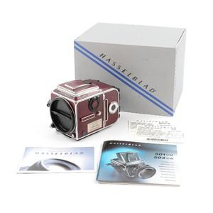 全新收藏 哈苏 Hasselblad 503cw + A12 红皮60周年纪念机