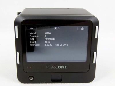 华瑞摄影器材-飞思 PHASE ONE IQ180 套机