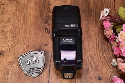 95新二手Canon佳能 580EX II 闪光灯 适用于5D2 5D3 885576
