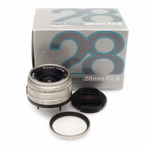 康泰时 Contax G 28/2.8 Biogon T*镜头 带包装 滤镜