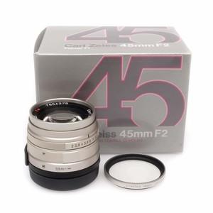康泰时 Contax G 45/2 Planar T*镜头 带包装 滤镜