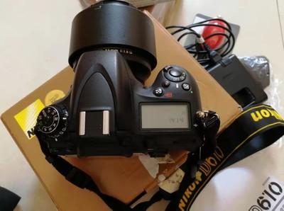 尼康 D610+尼康85 1.8G定镜头