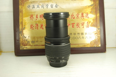 95新 佳能 28-200 F3.5-5.6 USM 单反镜头 全幅广角长焦旅游挂机