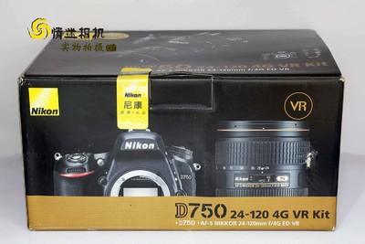 【全画幅专业单反数码相机】尼康D750+24-120/4套机 全新行货#*