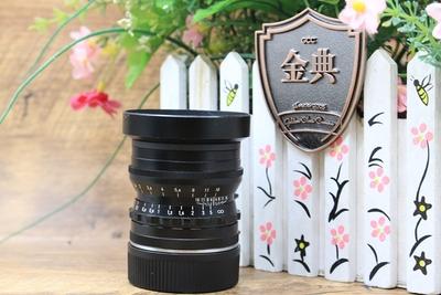 95新二手福伦达 50/1.5至尊黑色+UV镜730064