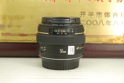 97新 佳能 50mm F1.4 USM 单反镜头 大光圈 专业人像定焦 出片好