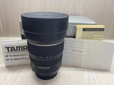 《天津天好》相机行 99新 行货带包装 腾龙15-30/2.8 Di VC佳能口