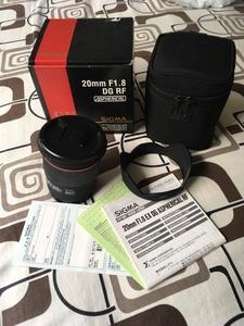 适马 20mm f/1.8 EX DG ASPERICAL RF佳能口