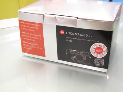 全新 徕卡 Leica M7 TTL 0.72 + M 50/2 套机 新品 带包装