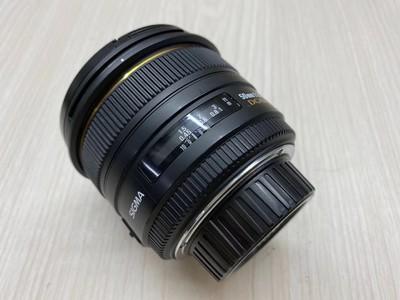 《天津天好》相机行 96新 适马50/1.4 DH 尼康口 镜头