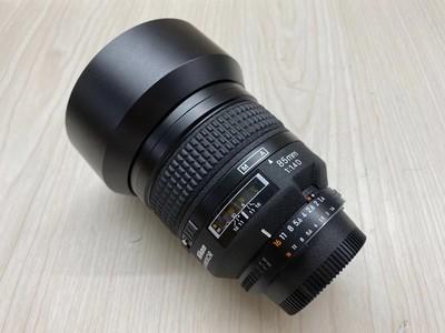 《天津天好》相机行 99新 尼康AF 85/1.4D 镜头