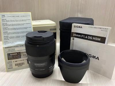 《天津天好》相机行 99新 行货带包装 佳能35/1.4DG ART佳能口