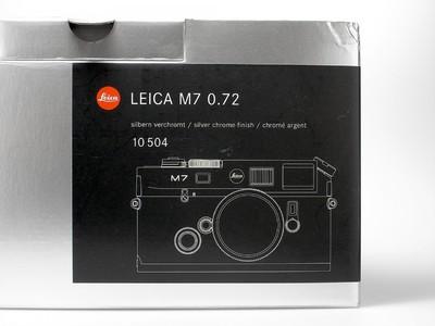 徕卡 Leica M7 TTL 0.72 银色机身 带包装