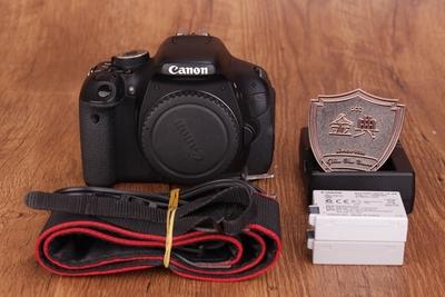 93新二手 Canon佳能 600D单机数码单反相机 232076186389