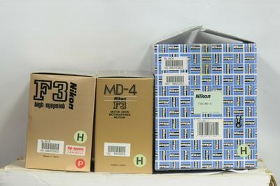 (顶级)尼康 Nikon F3H High Speed 带配套马达 带包装