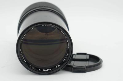 奥林巴斯OM 200 F4 镜头 好成色