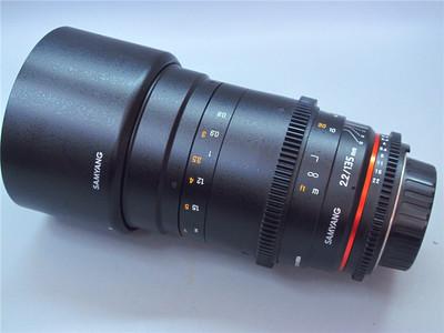 Samyang 135mm T2.2 VDSLR ED UMC 全画幅定焦电影镜头 尼康口