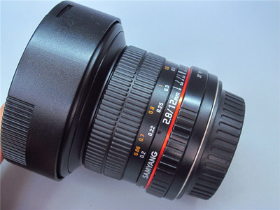Samyang 12mm F2.8 鱼眼镜头 全画幅 佳能口