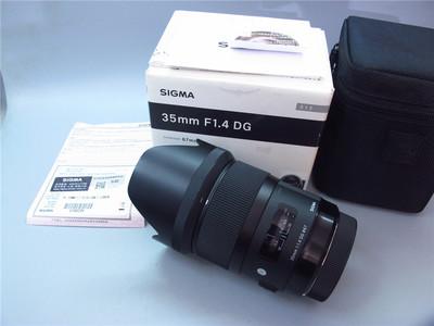 适马 35mm f/1.4 DG HSM Art 行货全套佳能卡口,成色冲新