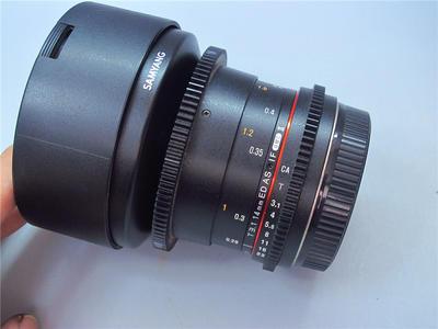 Samyang 14mm T3.1 三阳14MM 3.1T 电影镜头 二代