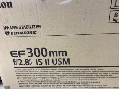 Canon/佳能 EF 300mm/2.8 IS II USM 二代长定焦镜头