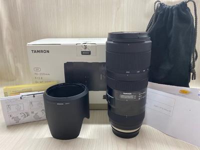 《天津天好》相机行 99新 行货全套 腾龙70-200/2.8 Di G2 佳能口
