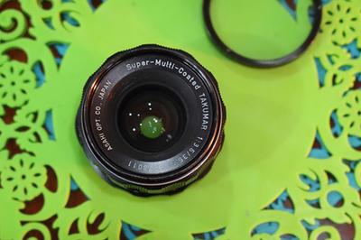 宾得 大苦马 takumar 35mm f3.5 超锐手动镜头 送佳能转接环 uv镜