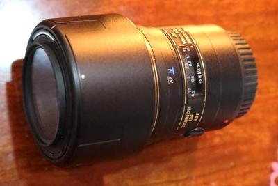 腾龙 90mm f2.8佳能口 微距 98新 送uv镜