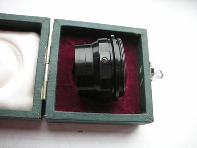 很新求进75mmf3.5放大镜头,带包装,收藏使用