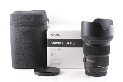 99/适马(SIGMA)ART 50mm F1.4 DG HSM ( 全套包装 )佳能口