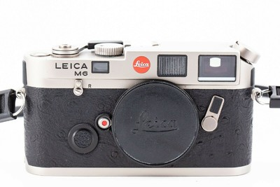 徕卡 Leica M6 0.72 钛版 鸵鸟皮