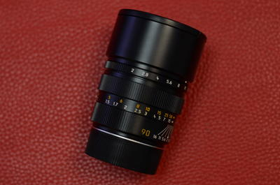 Leica徕卡 SUMMICRON-M 90/2 prea 后期方字版镜头莱卡90 2