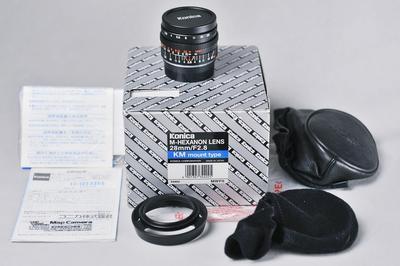 柯尼卡Konica M-Hexanon 28/2 莱卡M口 全新镜头 收藏品