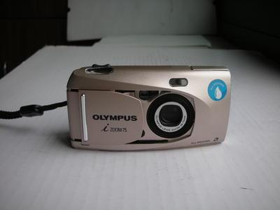 极新奥林巴斯VF75经典APS胶卷相机,送机套,收藏使用