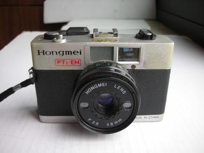 较新红梅PT1--EM袖珍旁轴相机,收藏使用