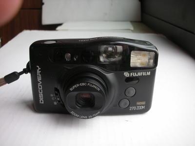 很新富士270自动对焦便携式相机,收藏使用