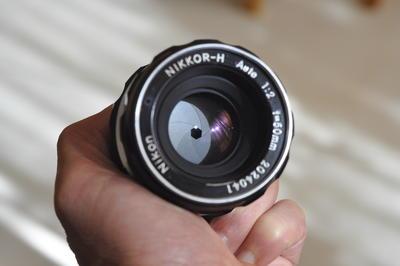 尼康手动头AUTO50mm/2