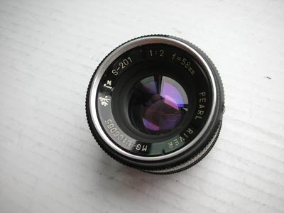 很新珠江58mmf2金属制造镜头,MD卡口,可转接各种数码相机