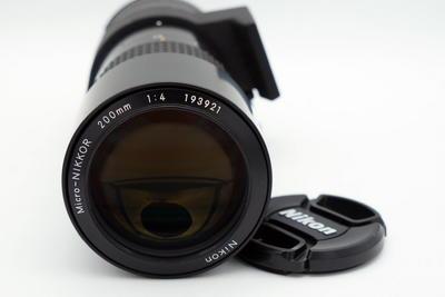 尼康AIS 200 F4 微距头 极美品收藏好成色