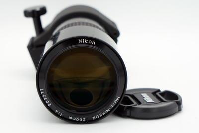 尼康AIS 200 F4 微距头 好成色
