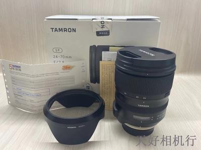 《天津天好》相机行 99新 行货全套 腾龙24-70/2.8VC G2尼康口