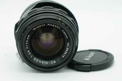 尼康PC 35 2.8 移轴镜头