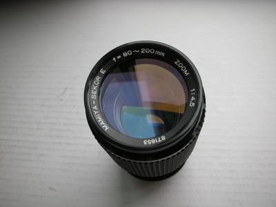 很新玛米亚80--200mmf4.5恒定光圈金属制造镜头,收藏使用
