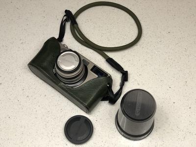 富士 fujifilm tx1 宽幅相机 135胶片,配45镜头