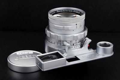 徕卡 Summicron M 50/2 Dual Range DR Rigid银色jp23316