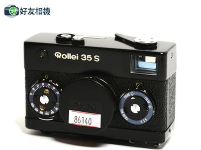 禄来/Rollei 35 S 胶片相机 黑色 连40/2.8 HFT 镜头 *90新*
